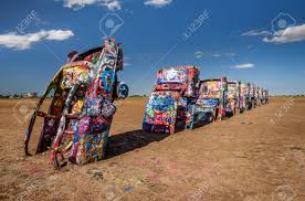 amarillo texas usa may 12 2016 cadillac ranch in amarillo