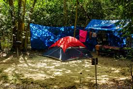 platform tent camping in virgin islands campgrounds national parked