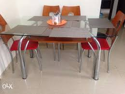 old dining table for sale dining table for sale in navi mumbai 6 months old 6 seater dining