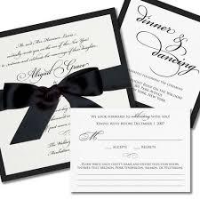 wedding invitations black and white simple black and white wedding invitations iidaemilia