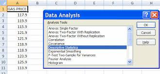 excel 2007 descriptive statistics for univariate data