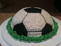 soccer cake ideas a soccer cake thriftyfun