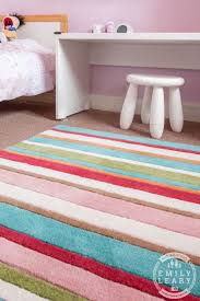 Pink Stripe Rug Check Out This Vibrant Striped Rug From Room To Grow Review A
