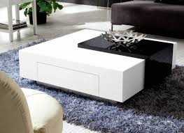 glossy white coffee table unique white and black coffee table coffee tables ideas