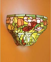 Stained Glass Wall Sconce Wall Sconces Stained Glass Home Decoration Club