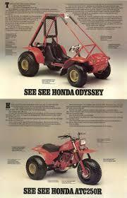 honda odyssey fl250 tires 1982 honda atc250r fl250 brochure ca my style