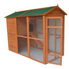 backyards ergonomic pawhut deluxe large backyard chicken coop
