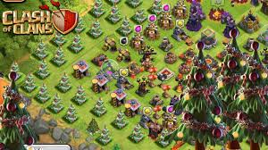 clash of clans x tree base build a new update base
