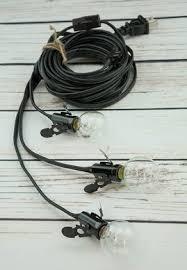 triple light bulb socket star lantern triple socket black pendant light l cord 17 ft on