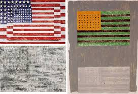American Flag Meaning Drawn American Flag Jasper Johns Pencil And In Color Drawn