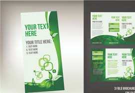 trifold brochure design free download tri fold brochure template