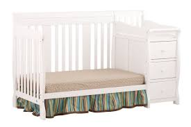 Storkcraft Convertible Crib Stork Craft Cribs Stork Craft Portofino 4 In 1 Fixed Side