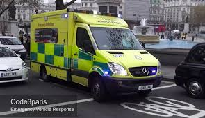 london ambulance service great siren youtube
