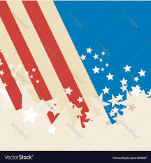 American Flag In Text American Flag Background Royalty Free Vector Image