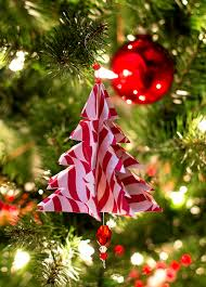 Christmas Tree Decorations To Make Out Of Paper Crafts Christmas Tree Ornaments Christmas Lights Decoration