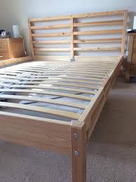 double king size ikea tarva luroy bed frame pine posot class
