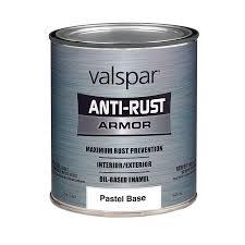 shop valspar anti rust armor gloss oil based enamel interior
