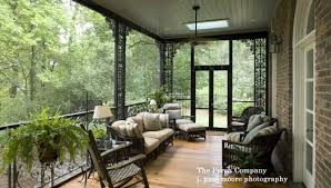 Decorating Screened Porch Landscape Ideas For Your Porch From J Paul Moore