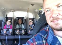 Meme Girl Car Seat - dad of triplets creates car dividers to stop backseat fights