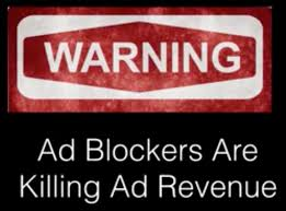 Blockers Ad Warning Ad Blockers Are Killing Advertising Matt Trainer