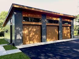 Rv Garage With Living Space 062g 0076 Modern Rv Garage Plan With Loft Garage Plans With