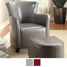 Chair W Ottoman Half Moon Bay Accent Chair W Ottoman