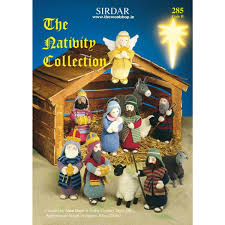 sirdar the nativity collection book 285 knitting yarn wool and