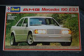 mercedes 190e 3 2 amg mercedes 190e amg revell model built that painted it
