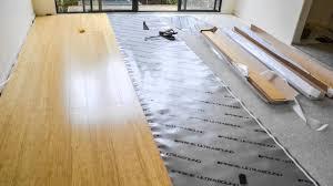 bamboo uniclic flooring home diy
