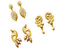 gold ear studs gold ear studs ear studs manufacturer distributor from chennai