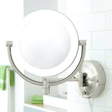 lighted vanity mirror wall mount white lighted makeup mirror wall mounted doherty house apply wall
