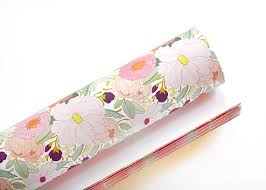 floral wrapping paper items similar to floral wrapping paper 3 sheets on etsy