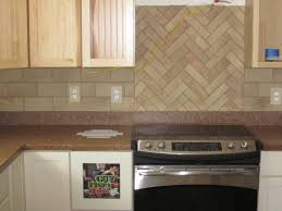 Kitchen Design Triangle by Kitchen Great White Porcelain Herringbone Tile Backsplash And
