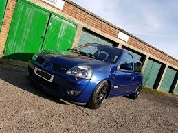 renault clio sport renault clio sport 172 182 modified in yeovil somerset gumtree