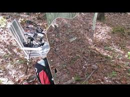Reflective Deer Blind Review Of Ghostblind Mirrored Panel Hunting Blind Youtube