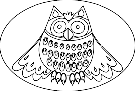 owl coloring page getcoloringpages com