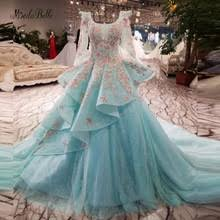 popular puffy blue prom dresses buy cheap puffy blue prom dresses