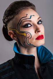 Easy Halloween Makeup For Men by Best 25 Futuristic Makeup Ideas On Pinterest Alien Makeup