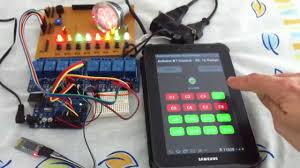 android arduino bt rc 16 relays channel relay led