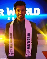 pageant hair that wins the most mr india rohit khandelwal wins mr world 2016 daily mail online