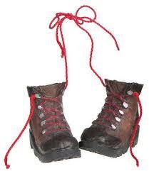 hiking boots ornament ornaments