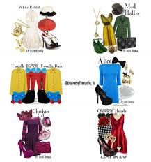 alice wonderland inspired clothes