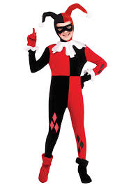harlequin halloween costumes child harley quinn jumpsuit costume