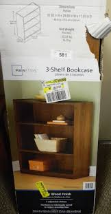 Mainstays 3 Shelf Bookcase Instructions Auction Listings In Arizona Auction Auctions East Valley