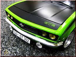 opel manta tuning opel manta gt e green 1975 wheels bbs big offset norev diecast