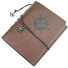 Leather Wedding Photo Album Woodmin Leather Cover Navigation Theme 3 Ring Black Paper Diy