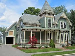 Victorian Style House Plans Architecture Design Outer Wall Limestone Home Exterior Gabled Roof