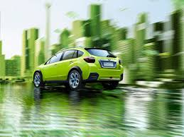 green subaru green xv concept rear wallpapers green xv concept rear stock photos