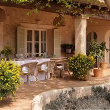 Mediterranean Style Home Decor Ideas by Mediterranean Backyard Designs Classic Patio Ideas In