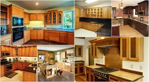 New Kitchen Cabinet Design New Oak Kitchen Cabinets Design Ideas